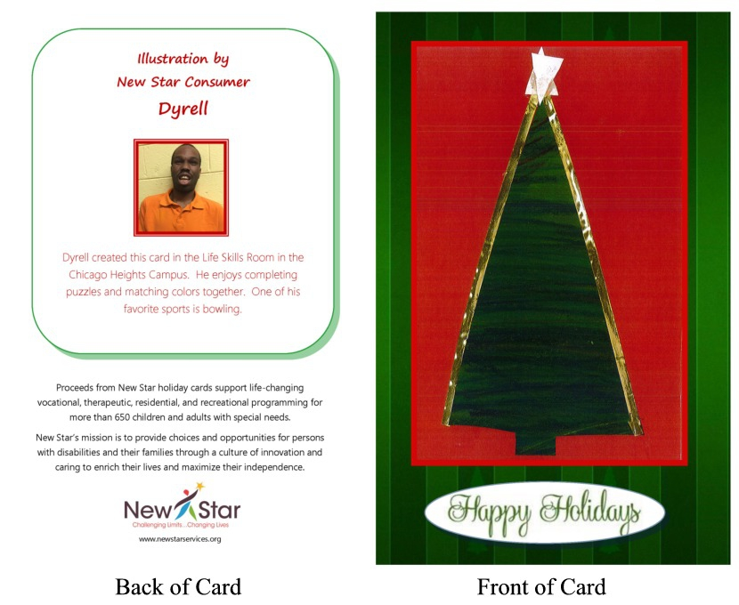 Christmas Tree by Dyrell (Pack of 10)